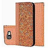 für Smartphone Samsung Galaxy A5 2017 Hülle, Leder Tasche für Samsung Galaxy A5 2017 Flip Cover Handyhülle Bookstyle mit Magnet Kartenfächer Standfunktion (1)