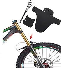 About1988 LED Fahrradlicht Set, superhelles LED-Fahrrad-Lichtset vorne und hinten, 3 Leuchtmodus-Optionen, wasserdicht, passend für alle Fahrräder, am Rucksack befestigt, Helm, Jacke