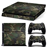 Feicuan Vinyl Decal Protective Haut Sticker für Playstation 4 PS4 Console and Controllers -No.a0050