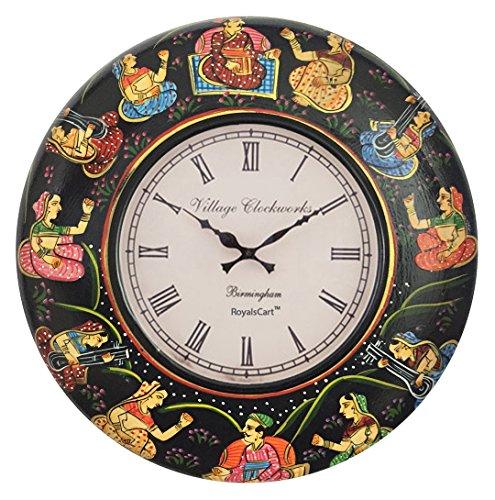RoyalsCart Painting Analog Wall Clock