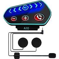 Cuffie Bluetooth per Casco Moto- Caschi Auricolare Vivavoce Cuffie per Controllo Chiamata, Ascolta la musica, Anti…