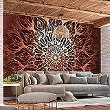 murando - Papier peint intissé Mandala 400x280 cm - Trompe l oeil - Tableaux muraux - déco - XXL - Ornament Orient Zen f-A-0659-a-c