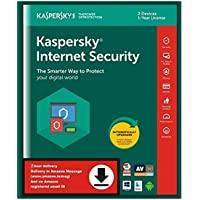 Kaspersky Internet Security 2020 Latest Version - 2 Users, 1 Year (Single Key) (Email Delivery in 2 Hours - No CD)