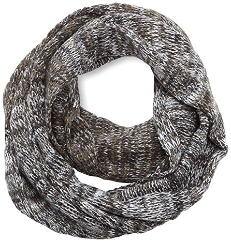 s.Oliver /Snood in Muticolour - Sciarpa da uomo, multicolore (grey/black Melange 99w1), unica