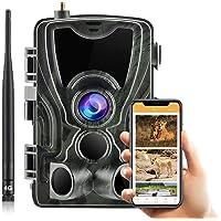 SUNTEKCAM E HC-801LTE-PLUS Caméra de chasse 4G 3G 20 MP 1080p Détecteur de mouvement Vision nocturne infrarouge avec…