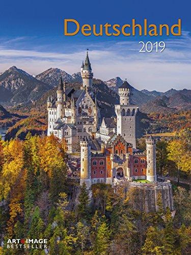 Deutschland 2019 - Sehenswürdigkeiten, Landschaftskalender 2019 - 48 x 64 cm