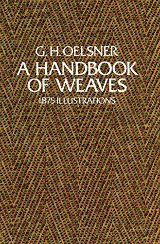 A Handbook of Weaves: 1875 Illustrations (English Edition)