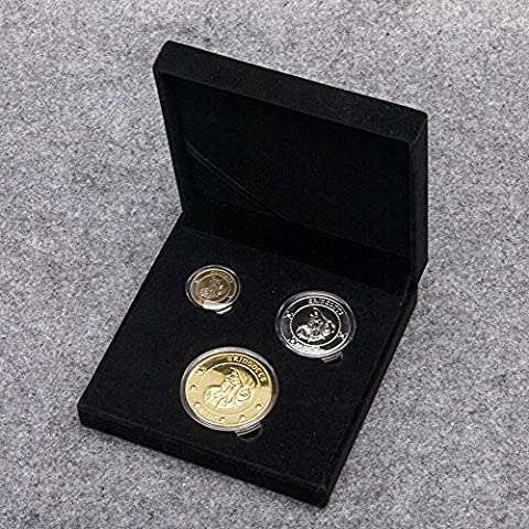 Harry Potter Münzset (3 Coins) aus der Gringotts Bank in