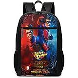 Mochila de Viaje de Mochila Escolar, Danger TV Show of Henry Backpacks Travel School Large Bags Shoulder Laptop Bag For Men W