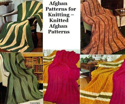 Afghanische Muster stricken – gestrickt afghanischen Muster