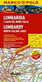 Lombardy, North Italian Lakes Marco Polo Map (Marco Polo Maps) by Marco Polo Travel Publishing (2014-01-08)