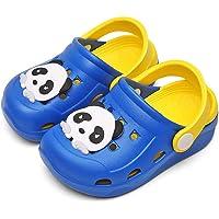 Sabots Fille Garçon Sandales Antidérapant Pantoufles Enfants Chaussures de Jardin Cartoon Panda Chaussons