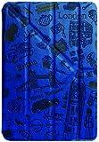 Ozaki O!Coat Travel OC102LD England Landesdesign kunstvolle Schutztasche für Apple iPad mini blau