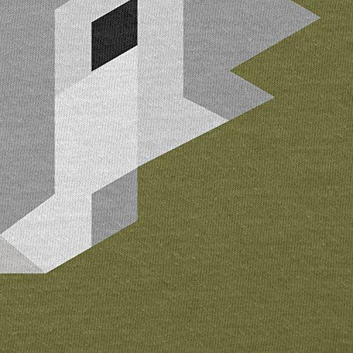 Texlab–Simple Wolf–sacchetto di stoffa Oliva