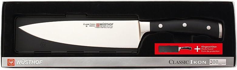 Wüsthof Kochmesser 20cm + Blade Guard Classic Ikon 9606-11