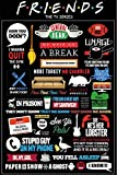 #7: Bikrikendra friends tv show quotes typography