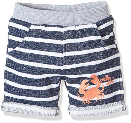 ef3ba84176 Blue Seven Baby-Jungen Shorts Sweat-Bermuda, Blau (Dk Blau 570)