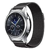 Gear S3 Watch Band, NXET Milanese Loop Bracelet en acier inoxydable Smart Watch Strap pour Samsung Gear S3 Frontier / S3 Classic / Moto 360 2ème génération 46 mm Smartwatch
