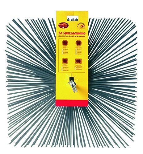 Best Fire 06229 Goupillon carré, acier, 250 x 250 mm