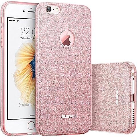 iPhone 6/6s Funda, ESR Resplandecer Carcasa el Bling Funda para iPhone 6S / iPhone 6, Oro Rosa
