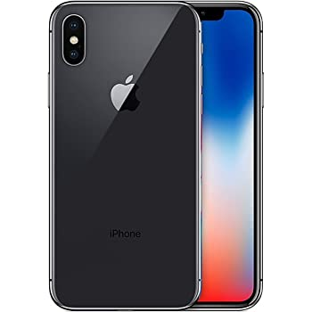Apple iPhone X Single SIM 4G 256GB, Grigio