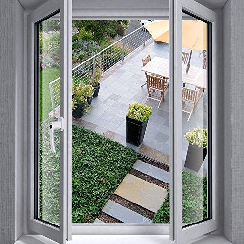 Fenstergriffe SIMBR abschließbare Fenstergriffe kindersicherung abschließbar im gekippten und geschlossenen Zustand 4 Stück Aluminium (Gleiche Schlüssel)