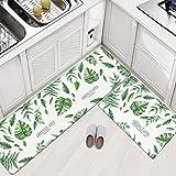 Küchenläufer, rutschfest ungiftig Moderne dünne Bodenbelag Matte - Geeignet für Küche, Bad, Schlafzimmer, Wohnzimmer, etc (4, M)
