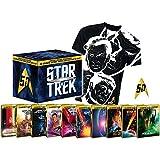 Star Trek I-X - Die Kinofilme 1-10 - limitierte Steelbook Collector's Box inkl. Anstecknadel + T-Shirt (Blu-ray)