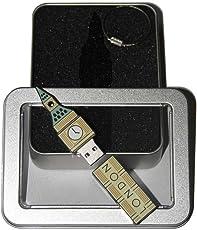 Souvenir London | Geschenkidee: USB-Stick mit Schlüsselanhänger in Form Big Ben für Frauen & Männer | inklusive Fotogalerie von Londoner Sehenswürdigkeiten | Memory Stick 16 GB | CultourStix