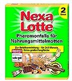 Nexa Lotte - Trampa de feromonas para polillas (2 unidades)