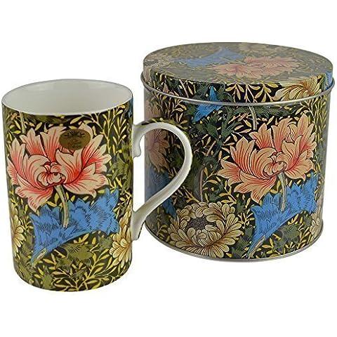 Fine porcellana William Morris Vintage Design Tazza/tazza