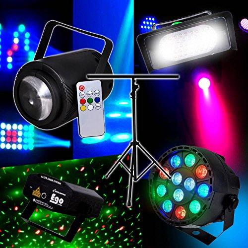 pack-light-4-effets-strobe50-led-bally-effet-beam-rvb-blanc-lytor-par-mini-las-vert-rouge-portique