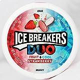Ice-Breaker Duo Fruit + Cool Mints Strawberry - 36 Grams