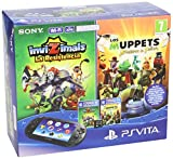 PlayStation Vita - Consola + Invizimals: La Resistencia + Muppets: The Movie + Tarjeta De Memoria 8 GB