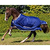 Bucas Smartex Medium 150g Turnout Rug 5ft3 Blue