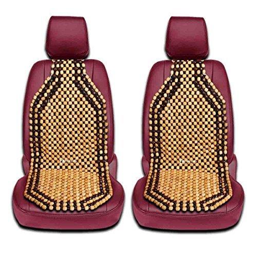 Zento offerte 2pezzi di perline di legno naturale della cuscino massaggiant