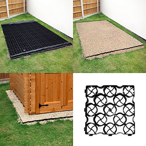61dbCcoxX8L. SS500  - shed base 1 Eco paver for shed base or pathways each Paver size 333mm x 333mm x 40mm