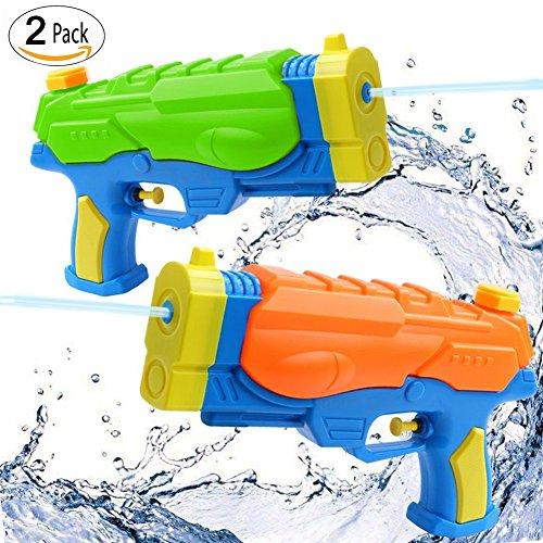 istolen, BEETEST Wasserpistolen für Kinder Erwachsene, Wasser Wasser Blaster Pistole Squirt Shooters Launcher Gun Heißer Sommer Strand Pool Rasen Squirt Games-2 Pack ()