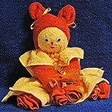 Baby, Handtuch-Geschenk, Frottier Puppe, Handtuchpuppe