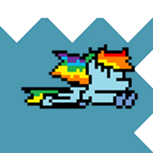 Don't Hit My Pony With The Spikes (Rainbow A Pony Design Dash)