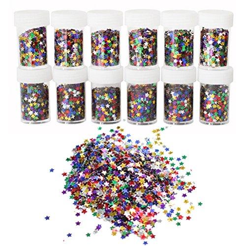 Purpurina Confeti rosenice Craft Lentejuelas DIY uñas