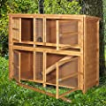 4ft Chartwell Double Luxury Rabbit Hutch by Hutch Company