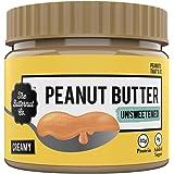 The Butternut Co. Peanut Butter Unsweetened, Creamy 340 gm (No Added Sugar, Vegan, High Protein, Keto)