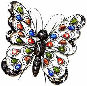 Premier Decorations BA122388 37 x 41 cm Butterfly Wall Art