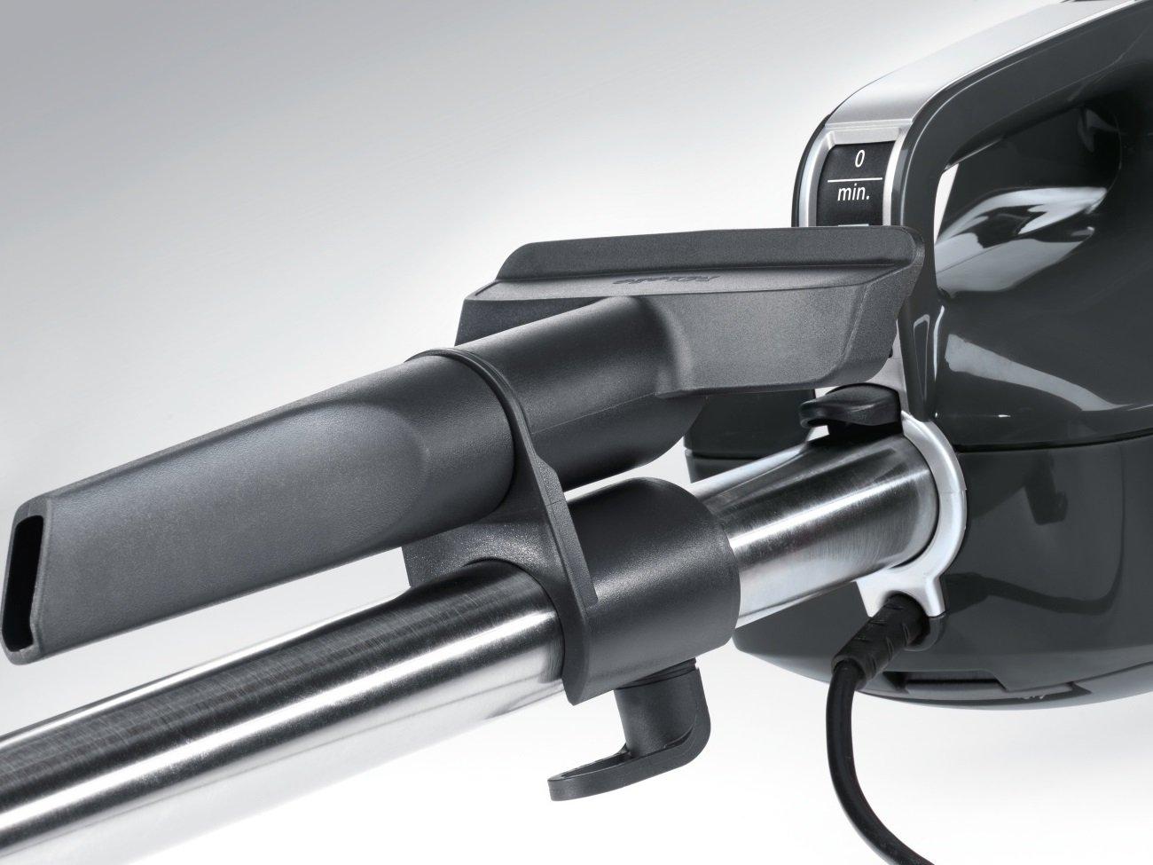 Miele Swing H1 Excellence EcoLine Handstaubsauger (mit Beutel, 2, 5 Liter Staubbeutelvolumen, 550 Watt, 9 m…