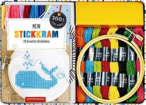 Preisvergleich Produktbild Mein Stickkram: 10 kreative Stickideen