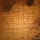Ideal for Roleplay 2ftx2ft PVC game mat desert design with grid