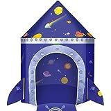 joylink Speltält, slott hus palatstält barn lekhus slott lekstuga för inomhus och utomhus bärbar leksakstält för pojkar flick