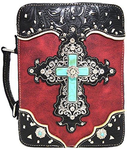 Blancho Biancheria da letto delle donne del cuoio [fascino trasversale] PU borsa di modo elegante Affari Borsa Rosso Handbag-Rosso