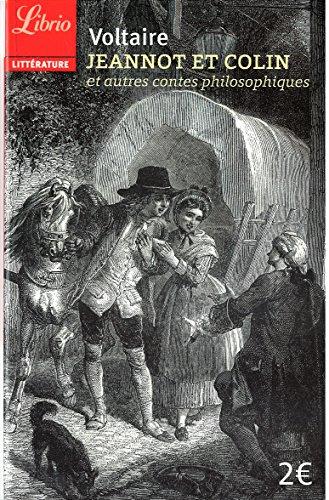Jeannot et colin - et autres contes philosophiques (Librio littérature) por Voltaire